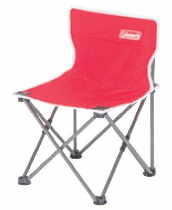 【鄉野情戶外專業】 Coleman |美國| 吸震摺椅 / 露營折疊椅 / 兒童座椅 豔陽紅 CM-3104JM000