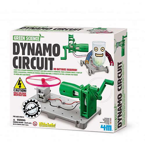 【4M 創意 DIY】Dynamo Circuit Board 動力發電裝置