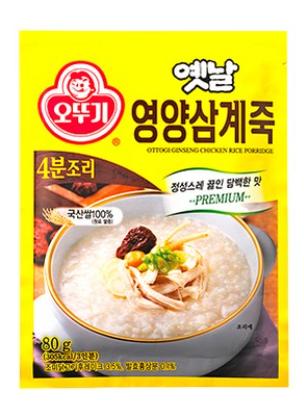 奧多吉 韓國 傳統營養人蔘粥 80g (三人份)