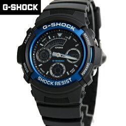 G-SHOCK 黑藍雙顯手錶 柒彩年代【NECG10】casio