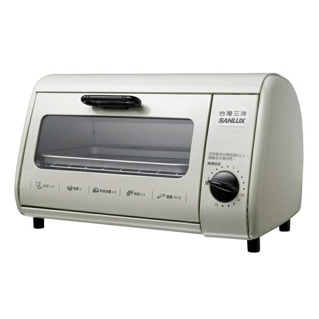 【SANLUX台灣三洋】8公升電烤箱 SK-08A(促)