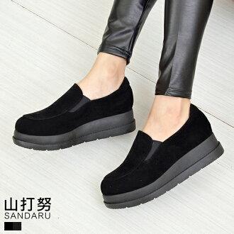 懶人鞋 素面厚底休閒鞋*- 山打努SANDARU【048071#20】