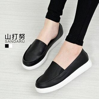 樂福鞋 素面厚底樂福鞋-山打努SANDARU【107A0326#46】