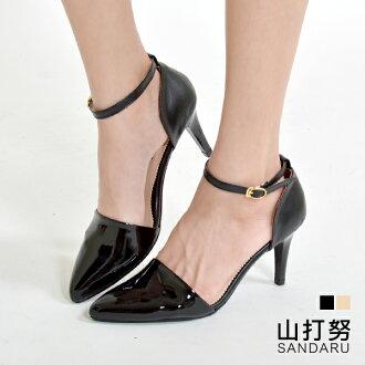 高跟鞋 尖頭繞帶細高跟鞋*-山打努SANDARU【03B907#20】