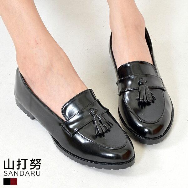紳士鞋 尖頭流蘇樂福紳士鞋~ 山打努SANDARU~101A955^#46~