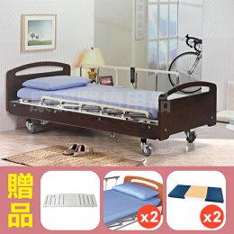 三馬達護理 電動床 贈品 餐桌 床包 防漏