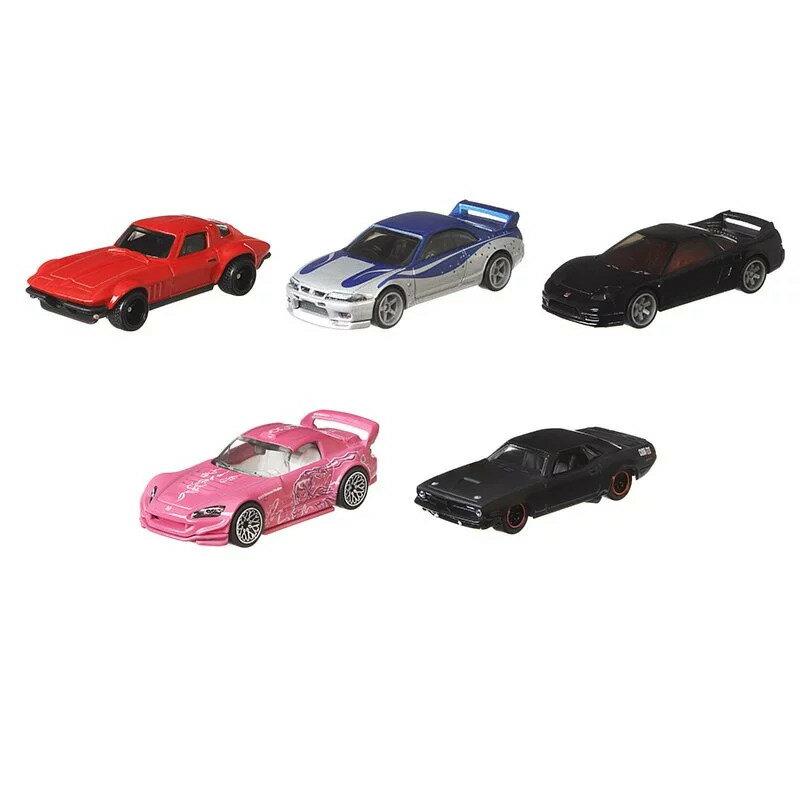 《風火輪Hot Wheels》 Fast & Furious玩命關頭合金車系列 一組5入(J箱號) 東喬精品百貨