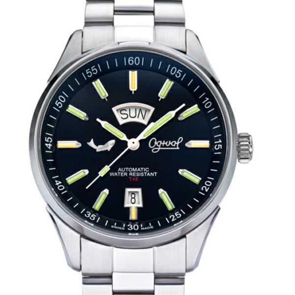 Ogival 愛其華 3359-3ATGS 氚氣燈管錶 40mm