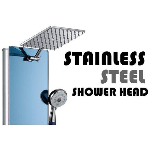 AKDY AK-878392H Tempered Glass Shower Panel Rain Style Massage System 3
