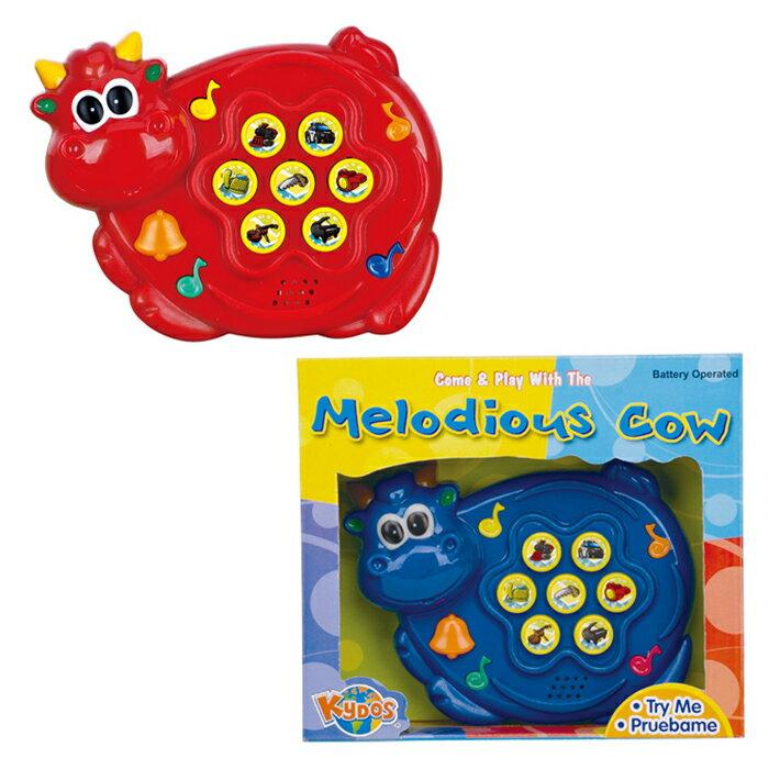 EMC兒童玩具音樂牛(藍、紅)【德芳保健藥妝】預購