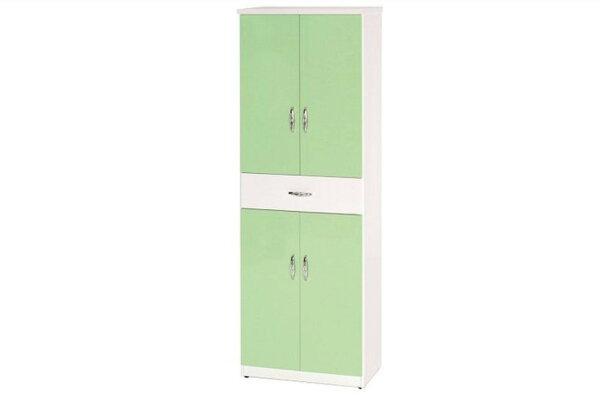 石川家居:【石川家居】894-05(綠白色)鞋櫃(CT-321)#訂製預購款式#環保塑鋼P無毒防霉易清潔