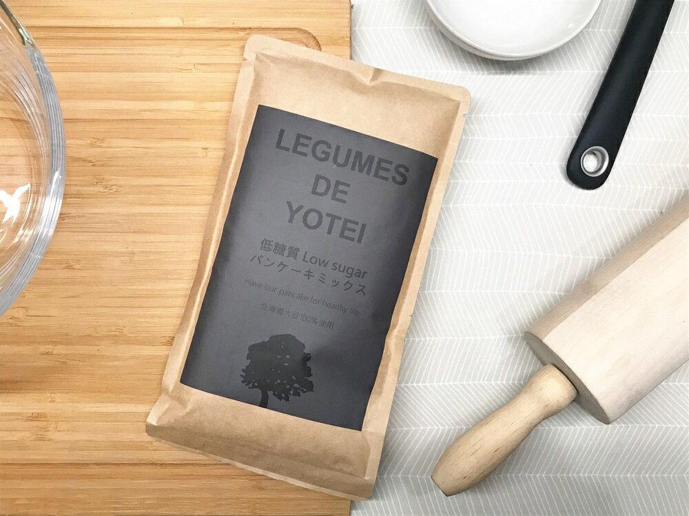 【北海道LEGUMES DE YOTEI】減醣鬆餅粉180g 【漾媽咪快樂購】
