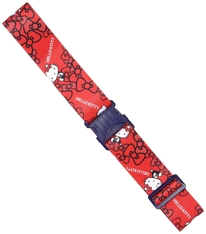 X射線【C529422】Hello Kitty旅行箱束帶(紅),旅行箱/行李箱/拉桿箱/購物箱/綁帶