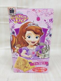 北日本小公主蘇菲亞餅乾57g盒