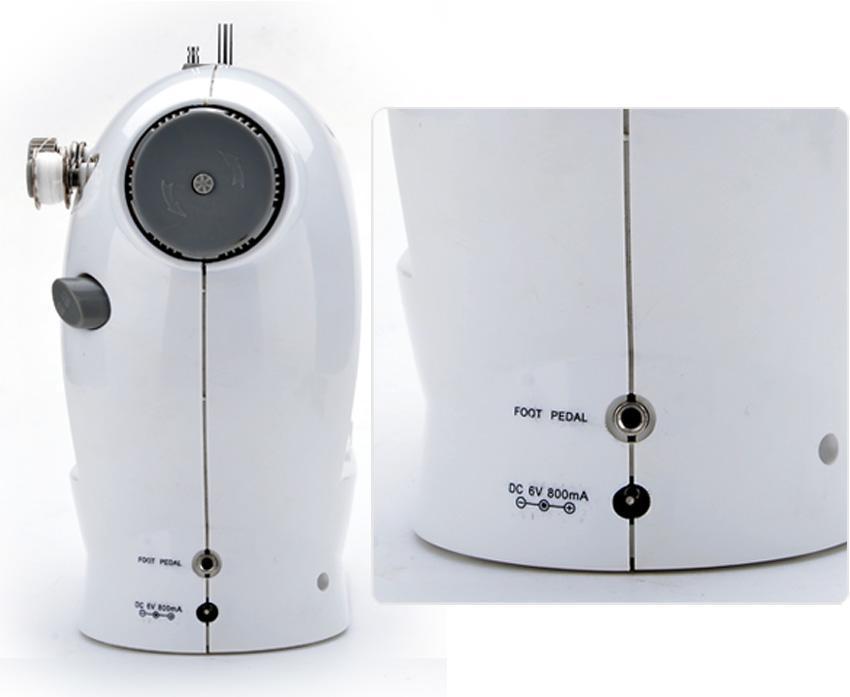 Portable Mini Handheld Electric Sew 2-Speed Sewing Machine Battery/Mains Powered  Bobbins 3