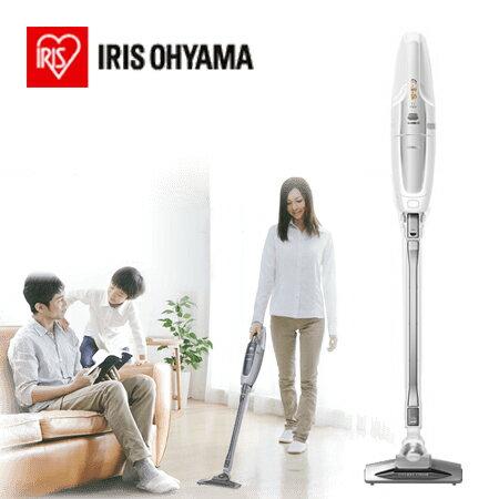 日本IRIS 氣旋直立式無線吸塵器 IC-SLDC1 (星空銀) (公司貨)