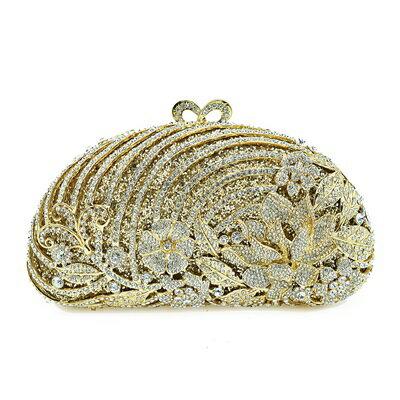 晚宴包鑲鑽手拿包-精美華麗高貴精選女包包73su43【獨家進口】【米蘭精品】