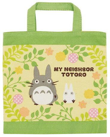 大賀屋 日貨 龍貓 方形 便當袋 午餐袋 餐袋 袋子 購物袋 兒童 包包 小包 手提袋 豆豆龍 正版 J00016089