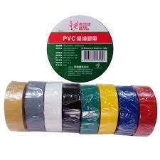 四維鹿頭牌 PVC絕緣膠帶 電火布 19mmX10M (10卷) 紅+黑+白 各20卷 ; 灰+黃+綠+藍各10卷 共100捲