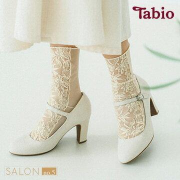 【靴下屋Tabio】薄紗蕾絲透膚短襪  /日本職人手做