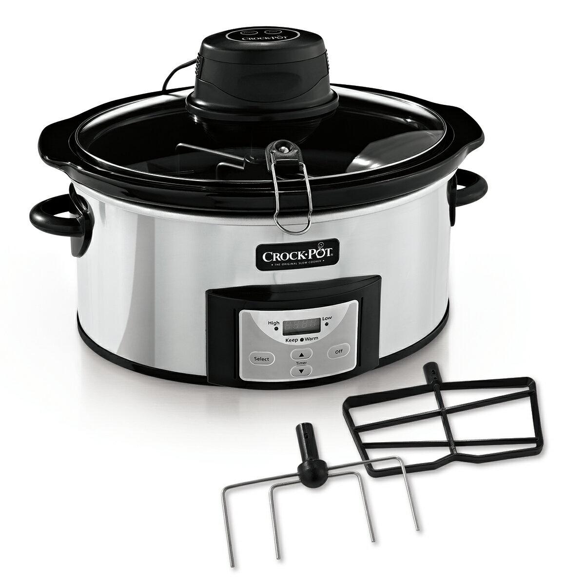 Crock-Pot 6-Quart Digital Slow Cooker with iStir™ Stirring System SCCPVC600AS-P 1