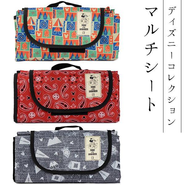 日本必買免運代購-日本DisneyCollection迪士尼多功能野餐墊無防水140×180cmbcl-70202。共3色