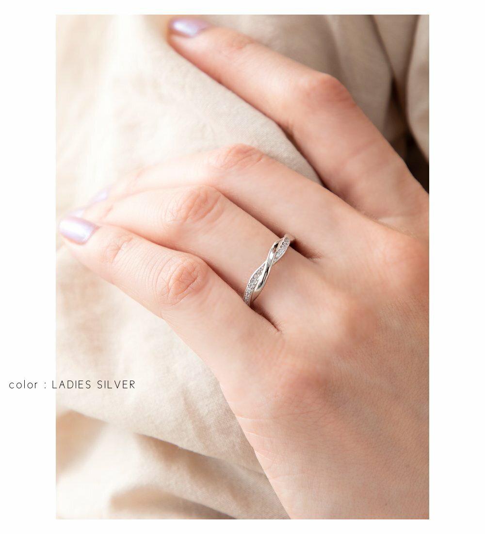 日本Cream Dot  /  925優雅交錯戒指  /  p00003  /  日本必買 日本樂天代購  /  件件含運 1