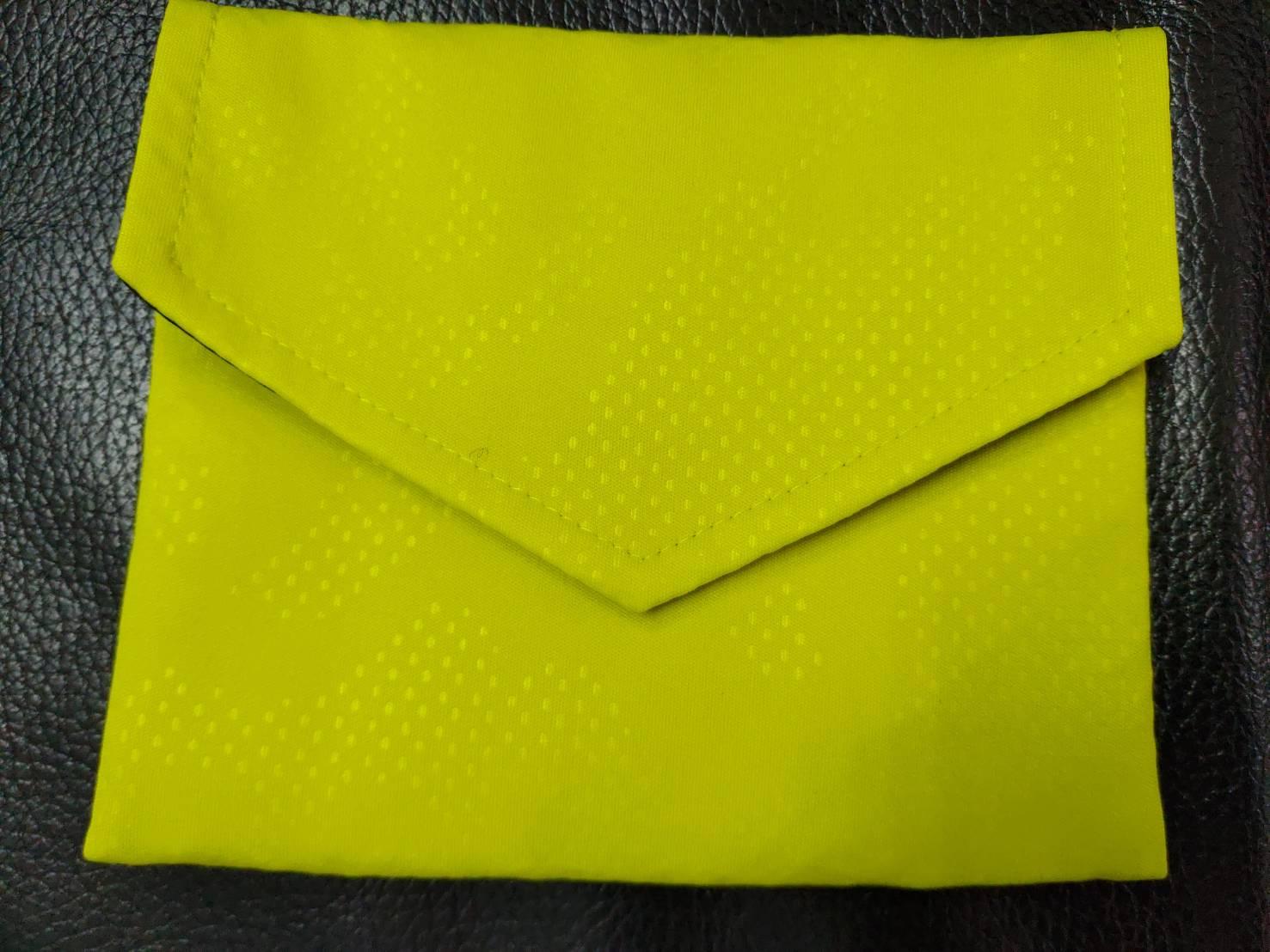 品業興 PYX 口罩收納袋 - 芥末黃