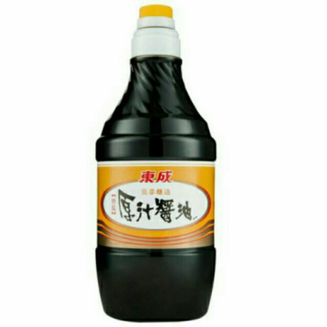 東成醬油1600ml*6罐 醬油 古早味 素食 名產