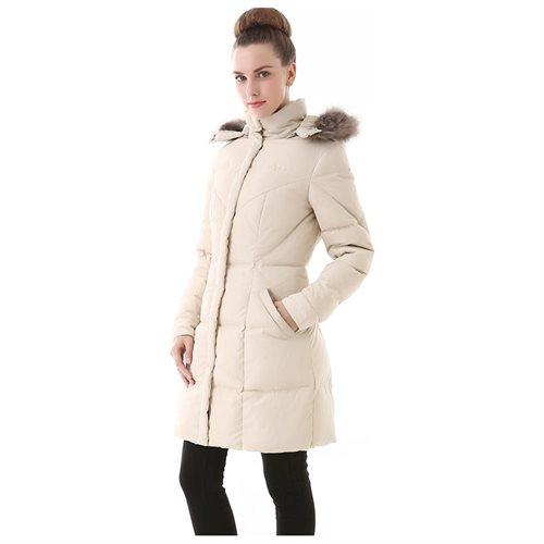 Jessie G. Women's Water Resistant Down Parka Coat 2