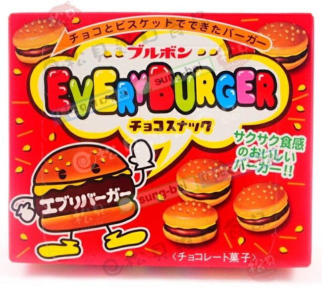 北日本小漢堡巧克力餅68g【4901360305896】
