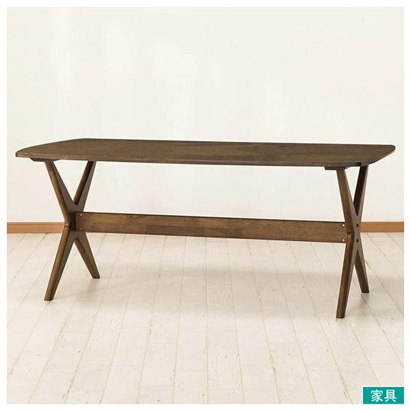 ◎橡膠木質餐桌 RELAX 160 MBR NITORI宜得利家居 0