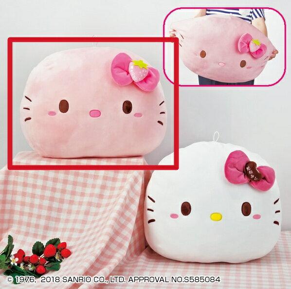【真愛日本】18050400001日本景品大福抱枕-KT粉kitty凱蒂貓娃娃抱枕靠枕枕頭日本景品