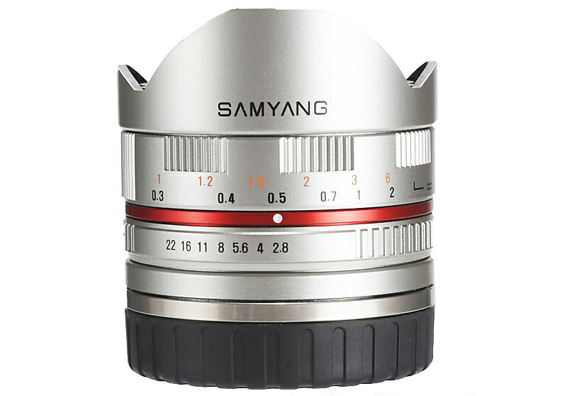 Samyang 鏡頭專賣店:8mm/F2.8 Fisheye ASPH for Fujifilm 銀色 (魚眼 XE-1,XE-2,X-Pro1,XT-1 )