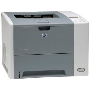 HP LaserJet P3000 P3005DN Laser Printer - Monochrome - 1200 x 1200 dpi Print - Plain Paper Print - Desktop - 35 ppm Mono Print - Letter, Legal, Executive, Custom Size - 600 sheets Standard Input Capacity - 100000 Duty Cycle - Automatic Duplex Print - Ethe 4