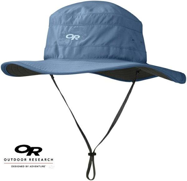 OutdoorResearch防曬遮陽帽圓盤帽SolarRollerUPF30OR243442806421081復古藍