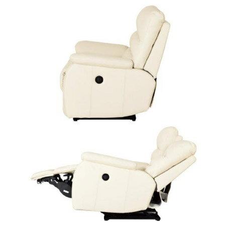 ◎(OUTLET)全皮3人用頂級電動可躺式沙發 BELIEVER IV 福利品 NITORI宜得利家居 4