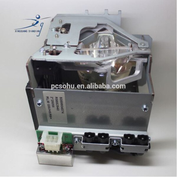 Bulb Only Original Philips Projector Lamp Replacement for Barco R9852530