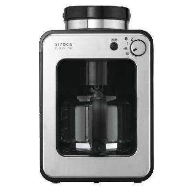 日本 Siroca 自動研磨 4人份咖啡機 STC-408
