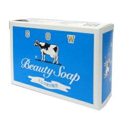 日本牛乳石鹼 牛乳香皂(藍盒)-茉莉清爽型 85g