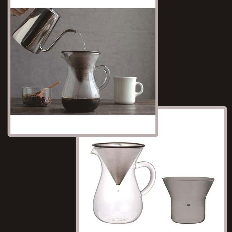 KINTO 不鏽鋼濾網 手沖咖啡壼 300ml 兩人份 2CUPS 日本帶回 免耗材
