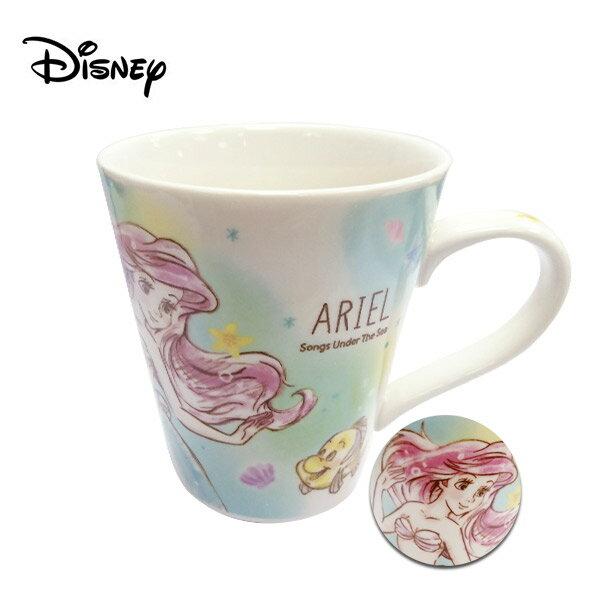 【日本正版】小美人魚 陶瓷 馬克杯 250ml 咖啡杯 愛麗兒 Ariel 迪士尼 Disney - 483551