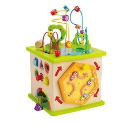 【免運費】《 德國 Hape 愛傑卡》豪華版幼兒學習盒