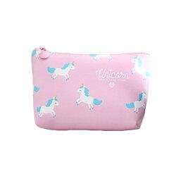 韓國熱銷 獨角獸化妝包 共四色 包包 旅行包 隨身包 化妝包 盥洗包 洗漱包 收納包 手拿包 超大容量 防水 送禮