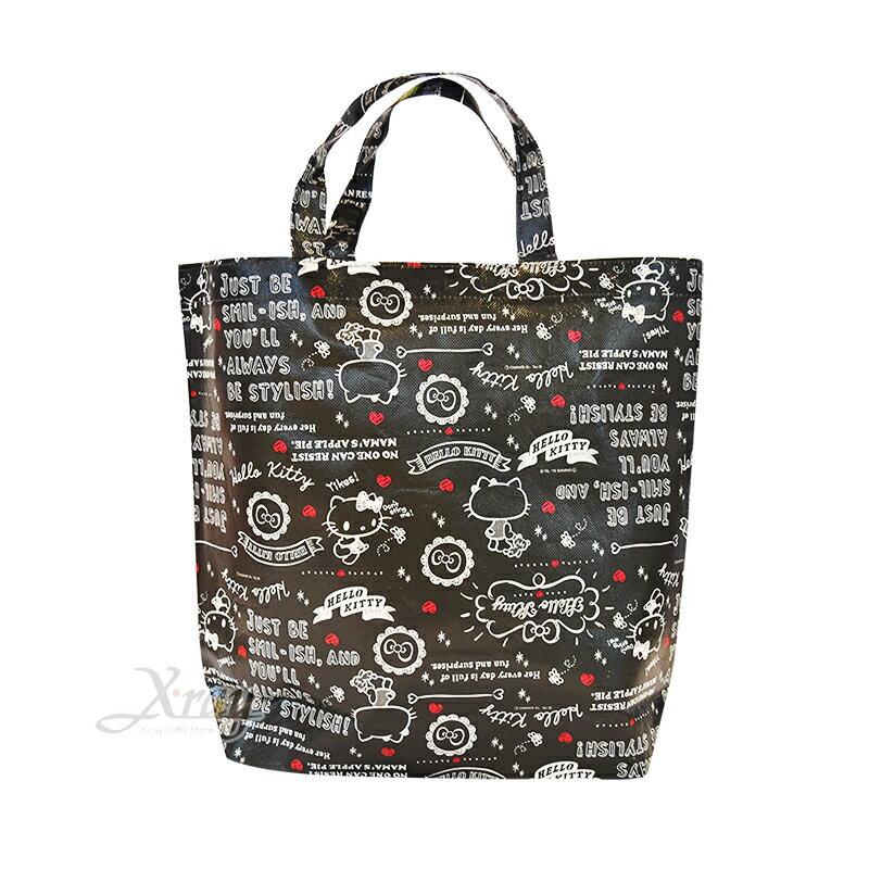 Hello Kitty環保袋,環保袋/購物袋/手提袋/買菜袋/便當袋/A4/開學必備,X射線【C587655】