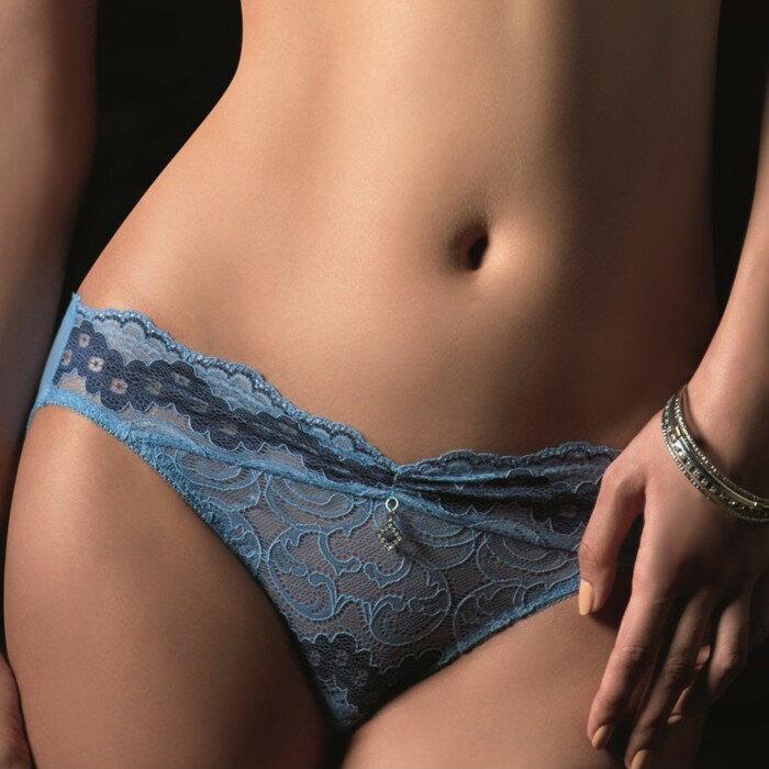 Lady伯瑟芬妮系列中腰三角褲(魅力藍)