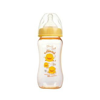 『121婦嬰用品館』黃色小鴨 寬口PES葫蘆奶瓶300ml