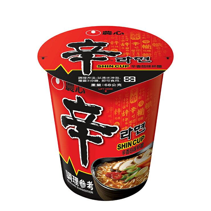 【農心】 辛香菇杯麵(68g)