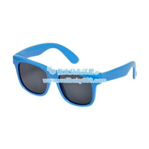 美國RKS經典純色太陽眼鏡-藍(4-7/7-10歲)★衛立兒生活館★