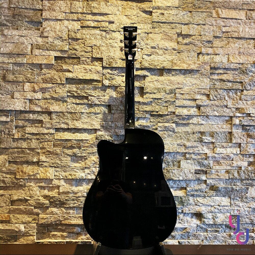 現貨免運 贈千元配件 美國品牌 Johnson JG-DCBC 面單板 民謠 木 吉他 D桶身 黑色亮光